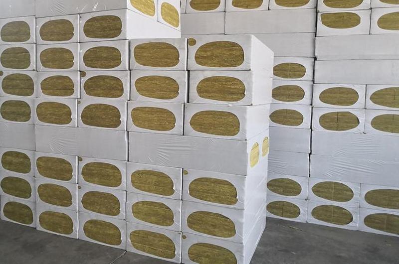 垂直纤维岩棉保温板