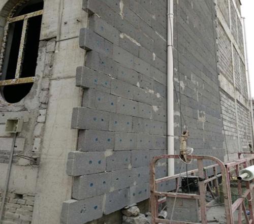 增强型改性发泡水泥保温板防火隔离带