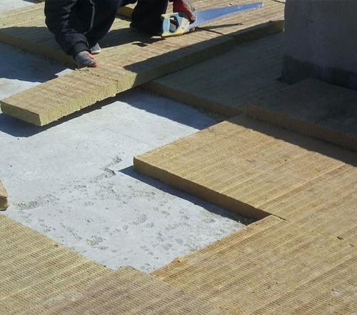 岩棉板屋面保温系统