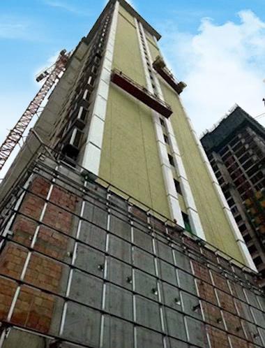 岩棉板外墙保温工程