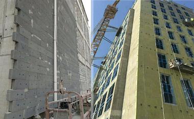 重庆发泡水泥板、岩棉板外墙保温工程
